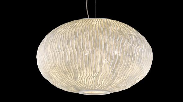 Coral Seaurchin Lámpara Colgante Grande