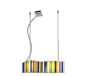 Ventopop Pendant Lamp Small lampshade Glass G9