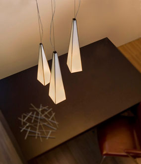 Kono Pendant Lamp Small triple