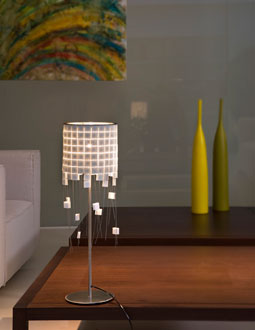 Gilda Lampe de table blanc