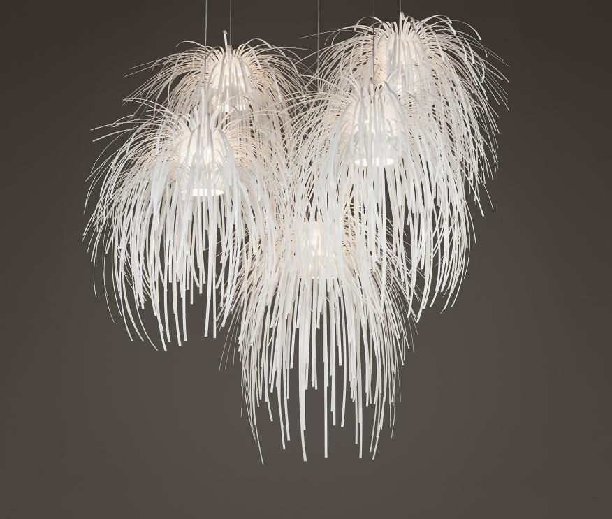 Tina Pendant Lamp composition 5 Pendant Lamps E275x23w
