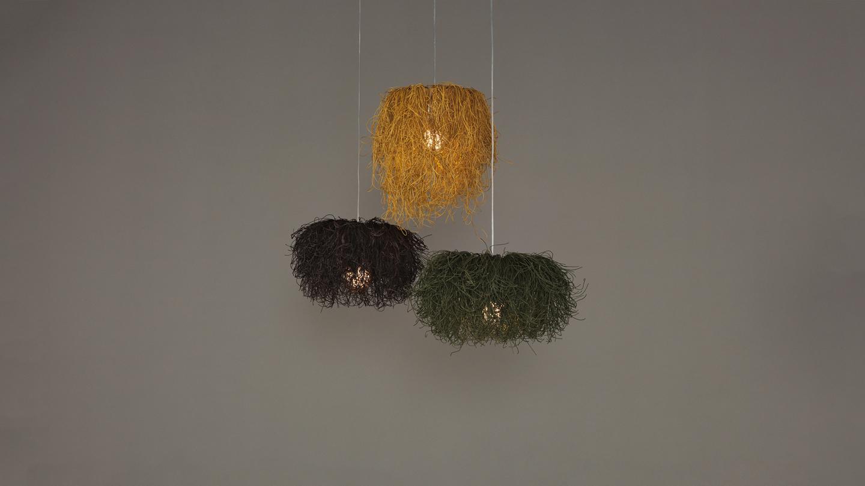 Caos Pendant Lamp (Composición 3 parts CA04A + 2xCA04AB) 3xE27 23w
