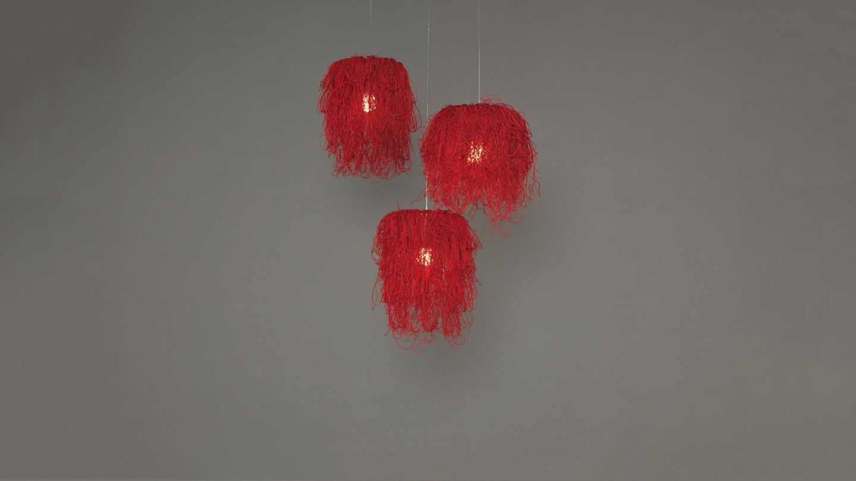 Caos Pendant Lamp (Composición 3 parts) 3xE27 23w