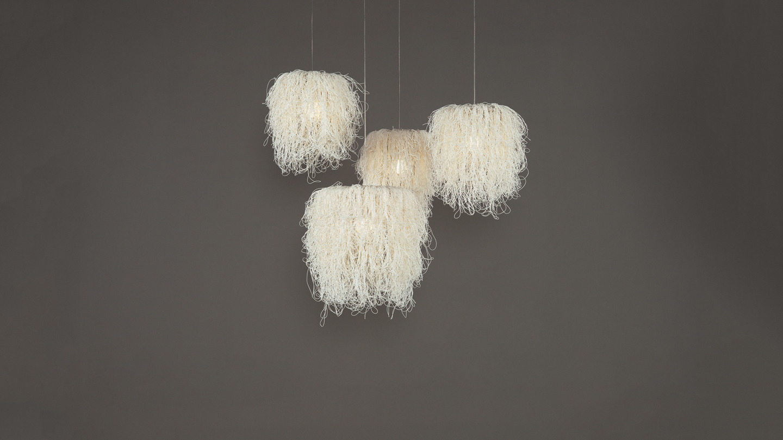 Caos Pendant Lamp (Composición 4 parts) 4xE27 23w