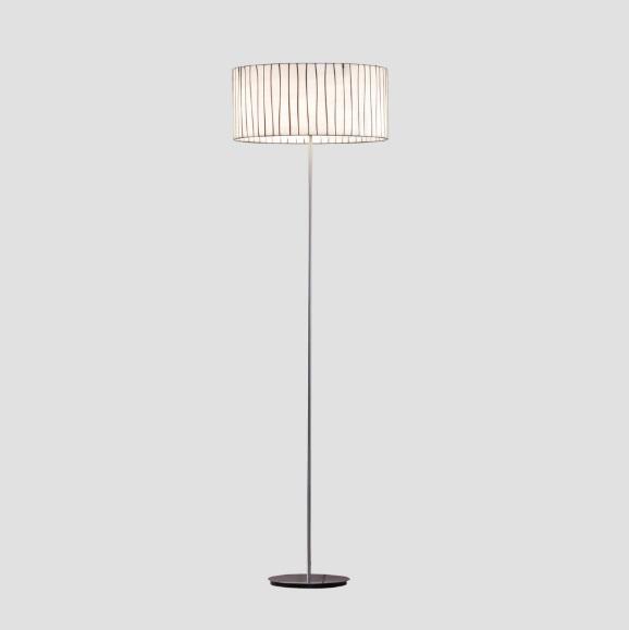Curvas lámpara de Pie 50x165cm 100W
