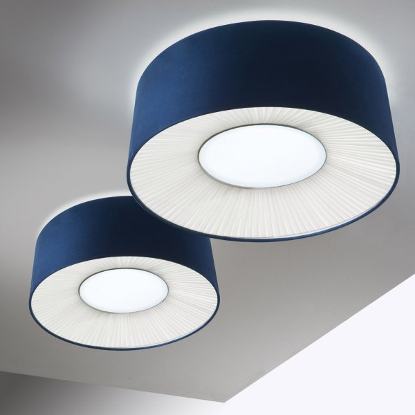 Velvet ceiling lamp 70 E27 E27 2x20W fluo (Lightecture)