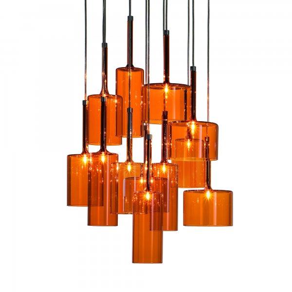 Spillray 12 Lámpara Colgante Cristal
