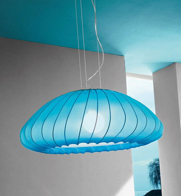 Muse Pendant Lamp E27 1x150w Light Blue