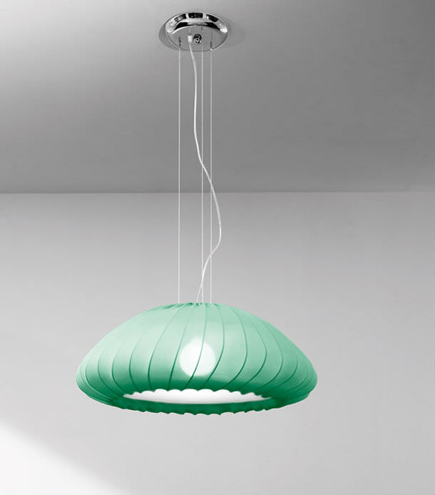 Muse Pendant Lamp E27 1x150w Green