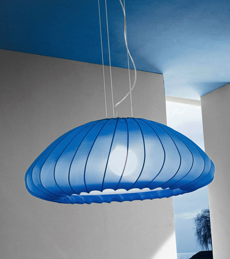 Muse (Accessory) Fabric for Pendant Lamp Blue Oscuro