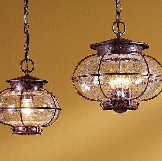 Maine S1 Lámpara Colgante Lacado rústico E27 11W (LED) o 60W (HA)