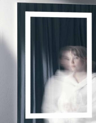 Alicia miroir T16 G5 2x39w + 2x24w 220/240 V (1000x700x34)