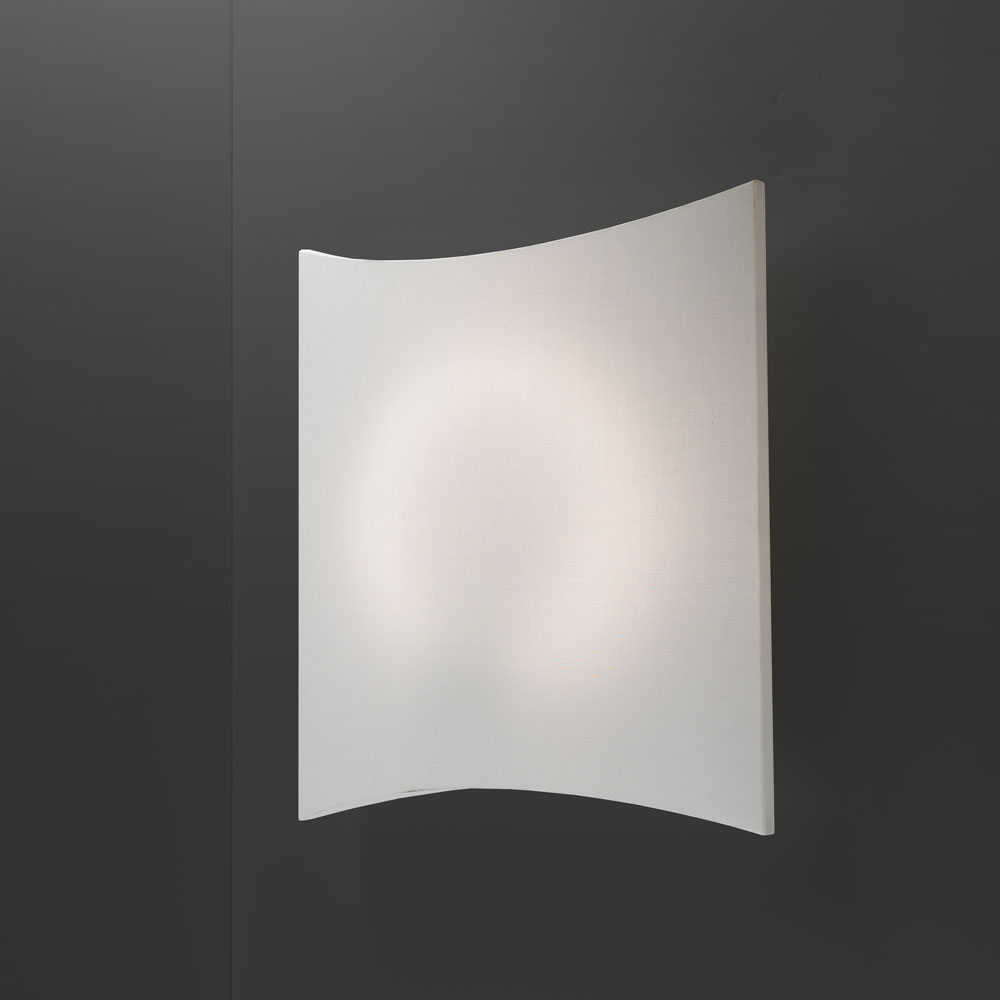 Dolcetta C/W Wall lamp/ceiling lamp 2Gx13 22w - White Crude