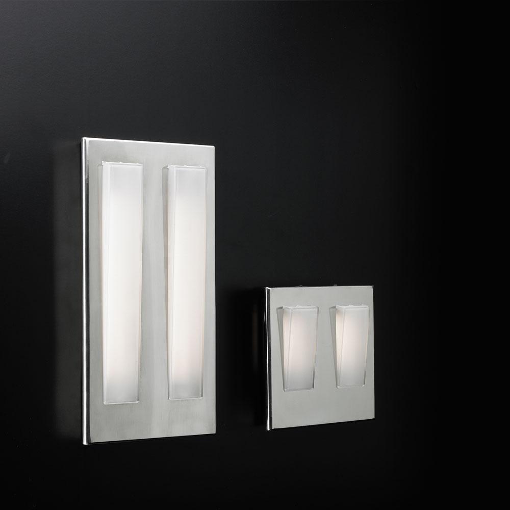 Duna 11 Surface Wall lamp G23 2x11w Chrome