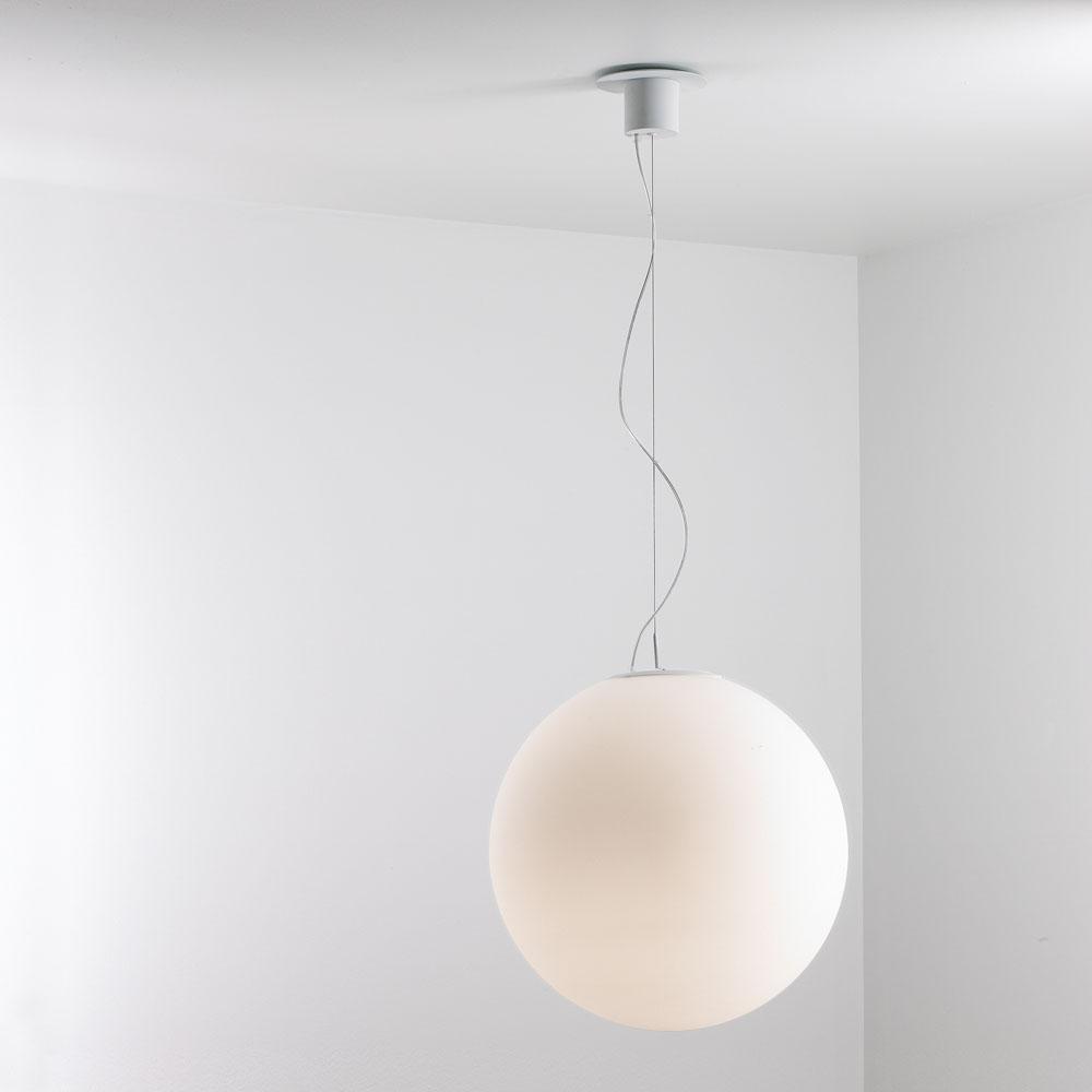 Globe Lámpara Colgante E27 1x70w Blanco