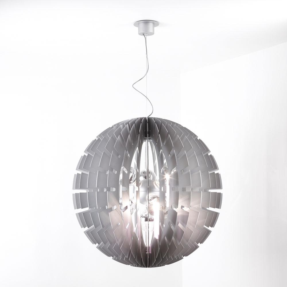 Helios 90 Lámpara Colgante E27 7x100w Metal