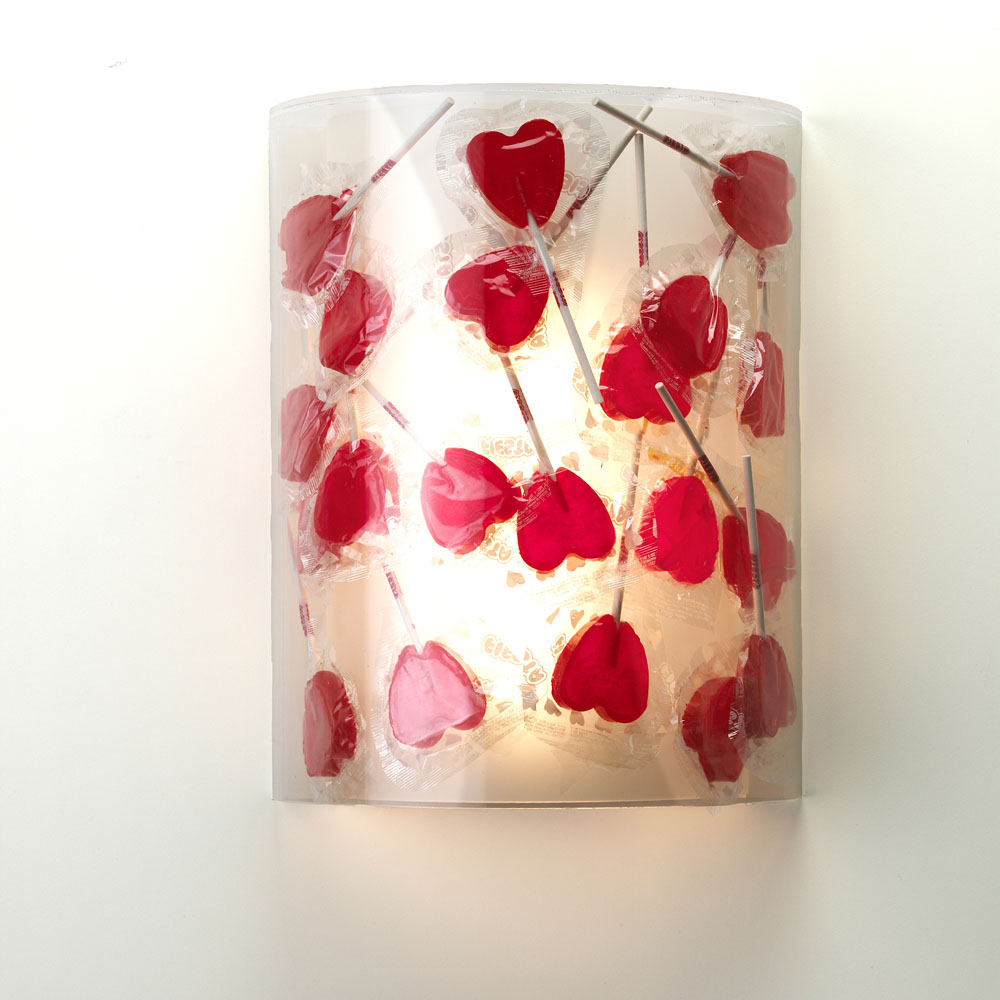 Jackie Wall lamp 2G11 1x18w Transparent