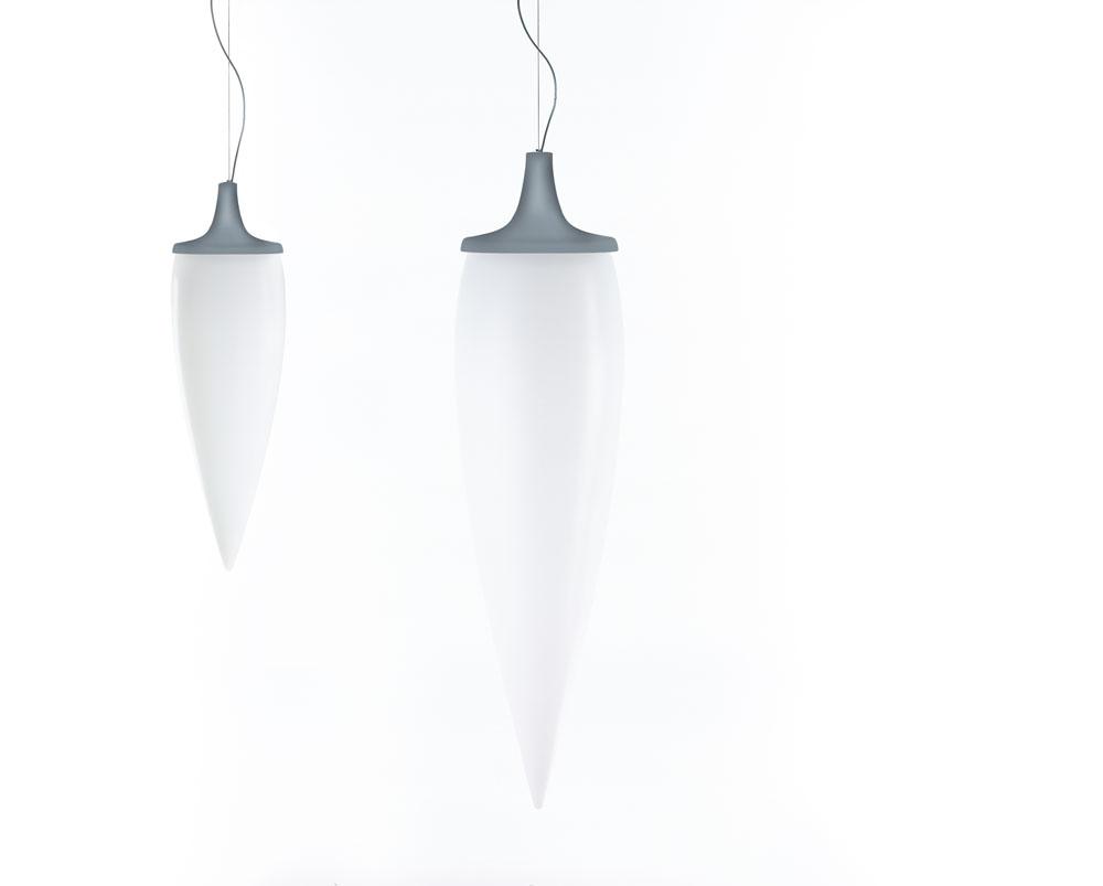 Kanpazar 150 Lampada a sospensione 2G11 2x36w bianco