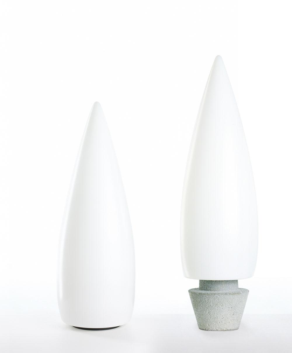 Kanpazar 150C lámpara de Pie G5 2x21w - blanco opal