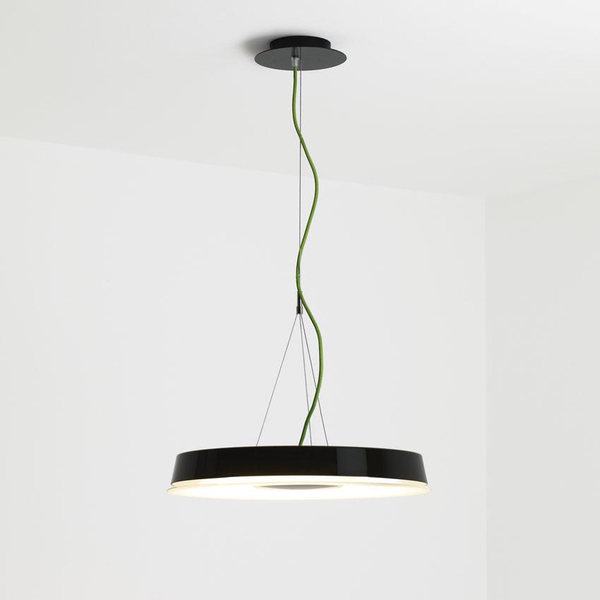 Olsen Lámpara Colgante 2Gx13 1x60w negro