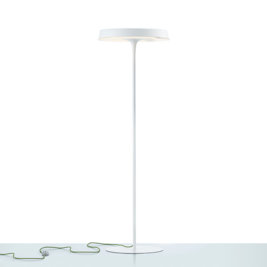 Olsen lámpara de Lampadaire 2Gx13 1x60w blanc