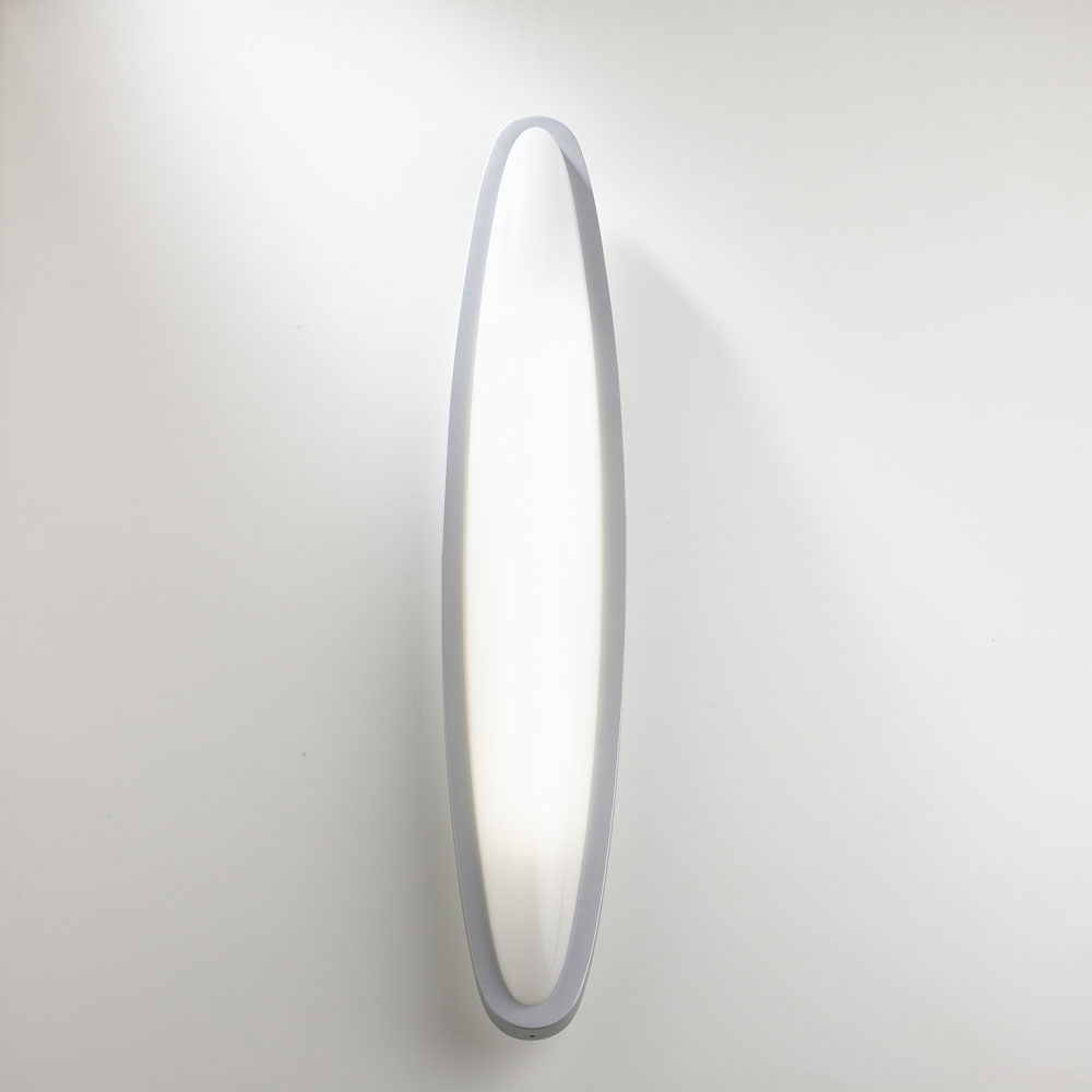 Ovo Wall lamp 2G11 36W - Grey mate