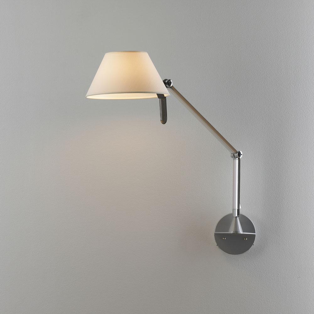 Petite 22 Wall Lamp Aluminium Mate