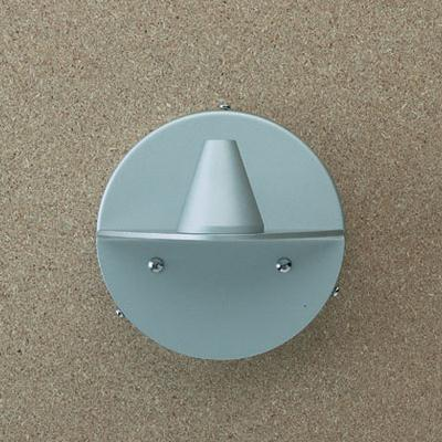Petite Accessory wall bracket E for Wall Lamp Conexión hidden Aluminium Mate