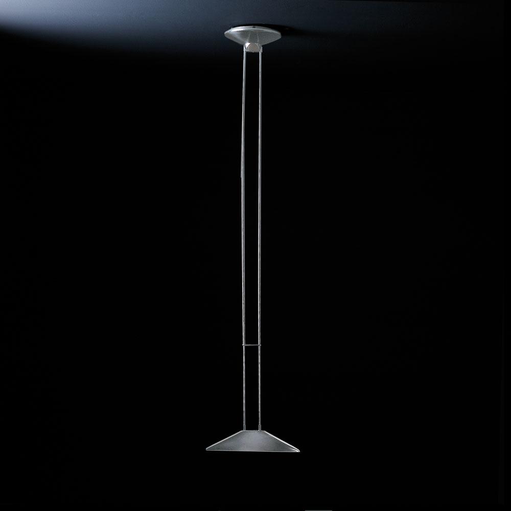 Regina Pendant Lamp R7s 150w Aluminium c/Blue