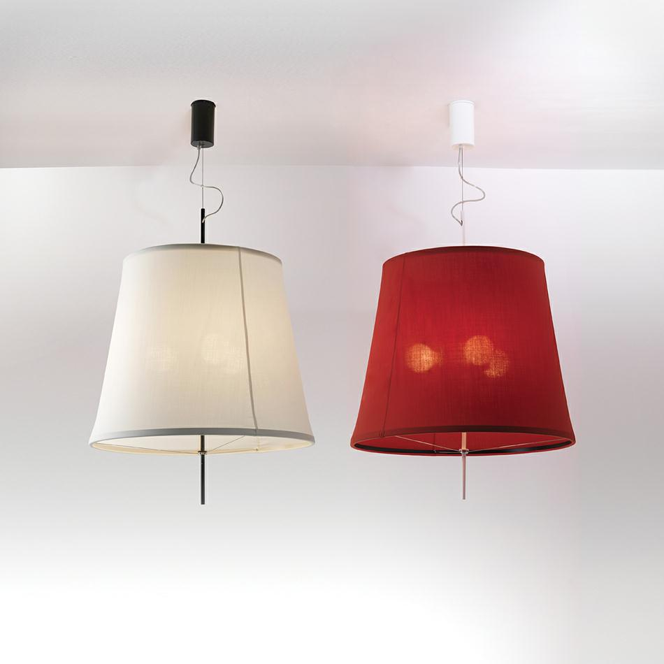 Adolight 2 Pendant lamp Cone-shaped Screen ø70 50cm E27 3x70w