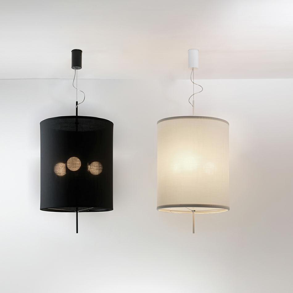 Adolight 1 Pendant lamp Cylindrical Screen ø50cm E27 3x70w