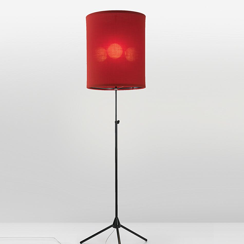 Adolight 1 Floor lamp Cylindrical Screen ø50cm E27 3x70w