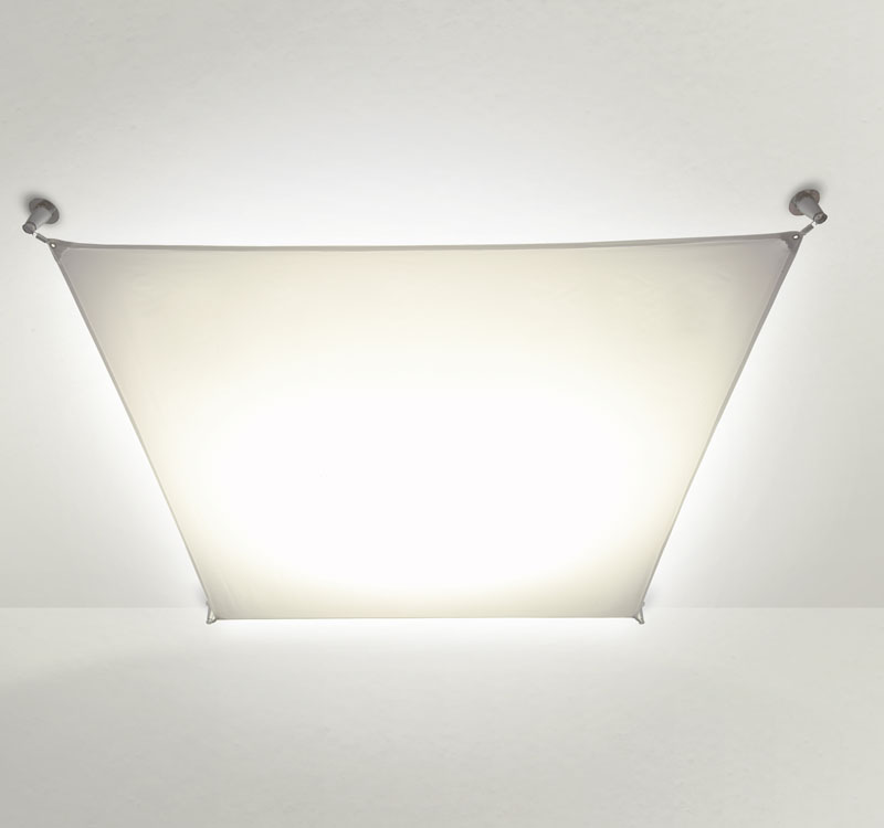 Veroca 4 Ceiling lamp (Structure without fabric) Electronic ballast G13 2x18w