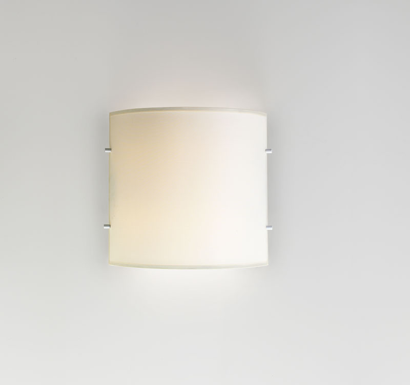 Dolce W2 Wall Lamp 2G11 2x18w fabric - White Crude