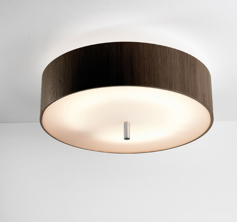 Ronda ceiling lamp 2Gx13 55w Wood Wengue