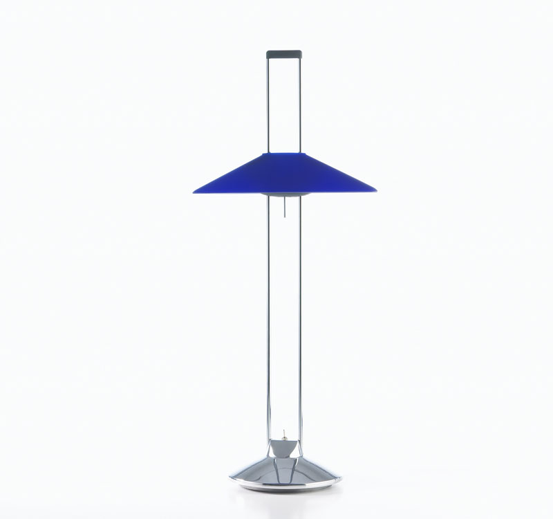 Regina T Table Lamp G6.35 2x20w Blue