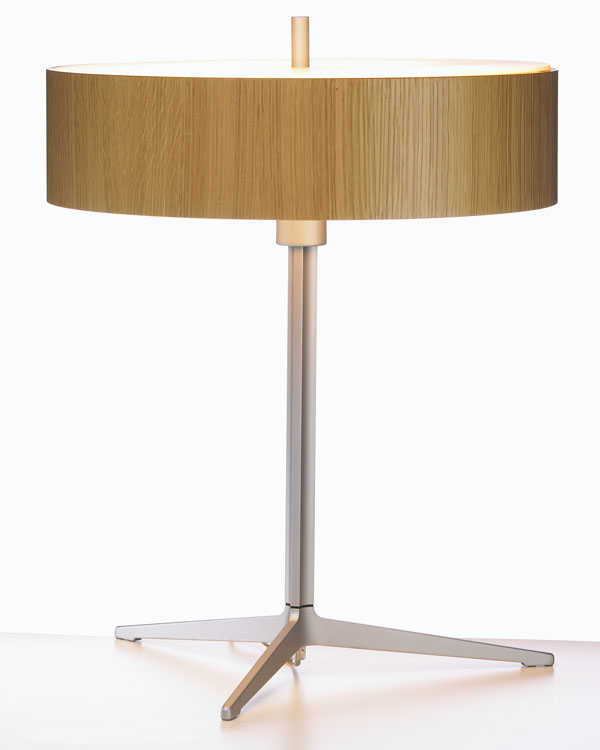 Ronda Table Lamp 2Gx13 40w Wood oak Natural