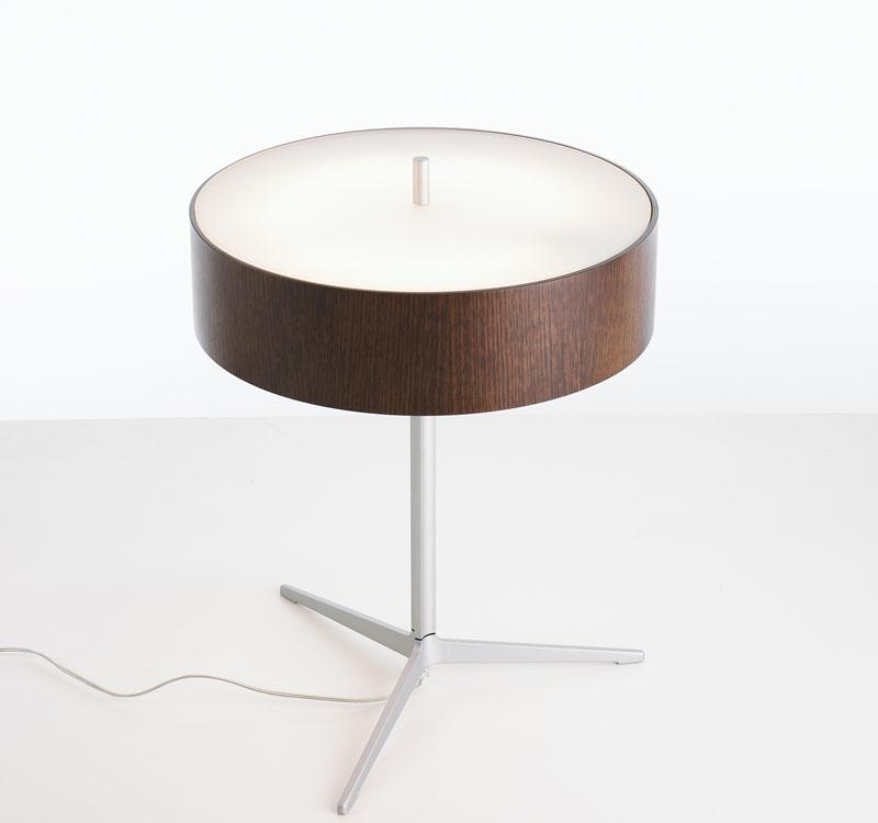 Ronda Table Lamp 2Gx13 40w Wood Wengue