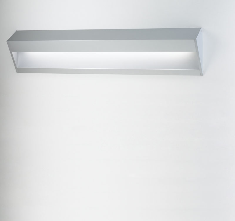 K System KSE 585 Surface Emergency lighting G5 1x14w Matte gray