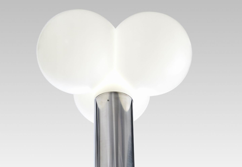 Trebol Basette combinable per Lampione Completo E27 1x30w bianco