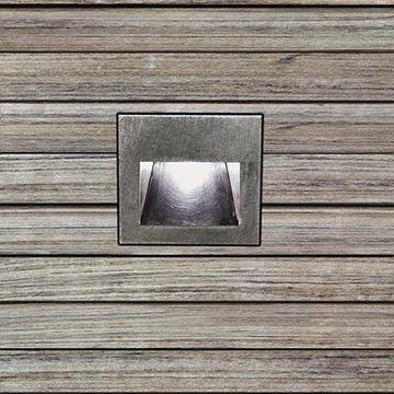 Lap WR20 Baliza exterior empotrable en pared Fluo. 10W (G24q-1) - Inoxidable