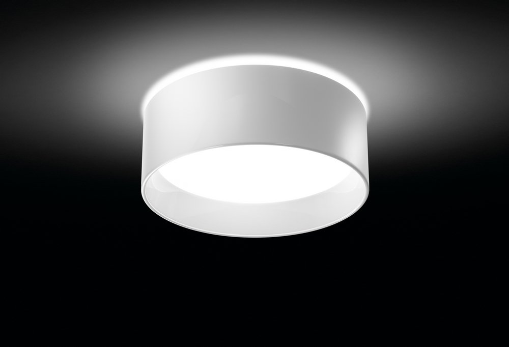 Cala ceiling lamp E27 22w white Lacquered Shiny