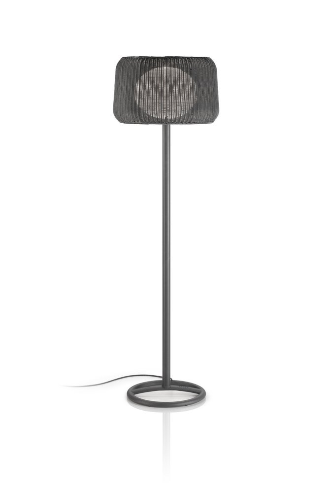 Fora - (Solo Structure) Floor Lamp Outdoor without lampshade E27 22w Brown-Base Hierro