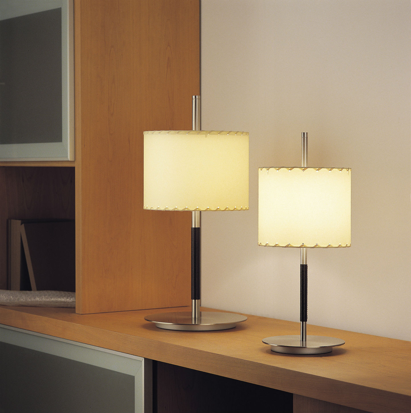 Danona - Mini (Solo Structure) Table Lamp without lampshade E27 46w Ní­quel Satin