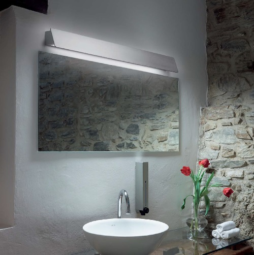 Alba - 60 Wall Lamp LED 11,5w indoores - Polished Alluminium