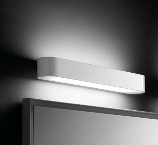 BCN luz de parede Fluorescente 24w branco Lacado Brilhante