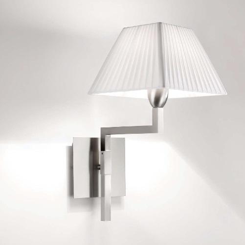 Carlota - G (Accessory) lampshade square 30cm Cinta translucent Cream