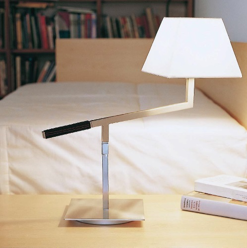 Carlota (Solo Structure) Table Lamp without lampshade 52cm E27 46w Nickel Satin