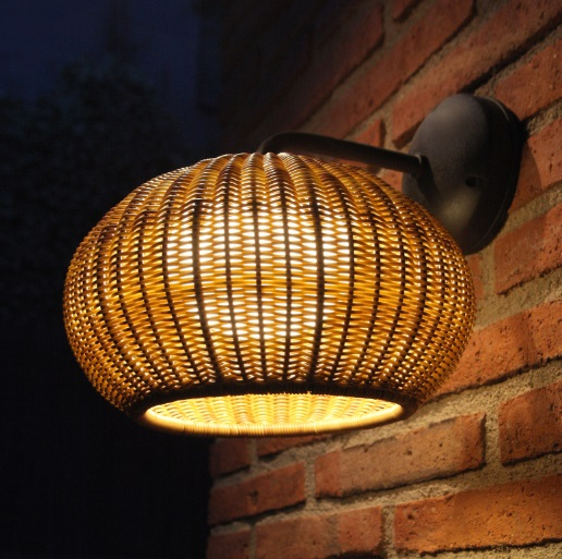 Garota - to 01 (Solo Structure) Wall Lamp Outdoor without lampshade LED 9w TRIAC Brown