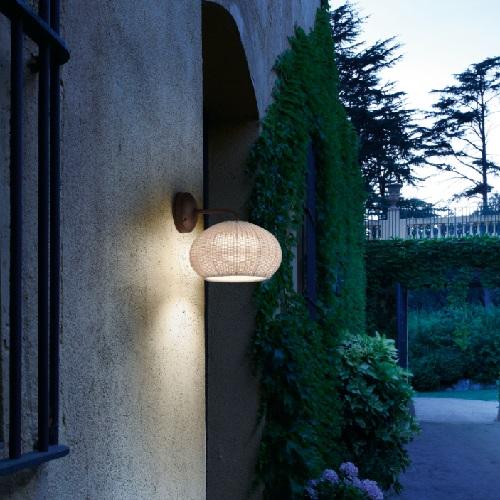 Garota - to 01 (Solo Structure) Wall Lamp Outdoor without lampshade LED 9w TRIAC White Roto